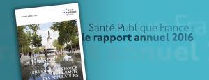Santé Publique France : rapport annuel 2016