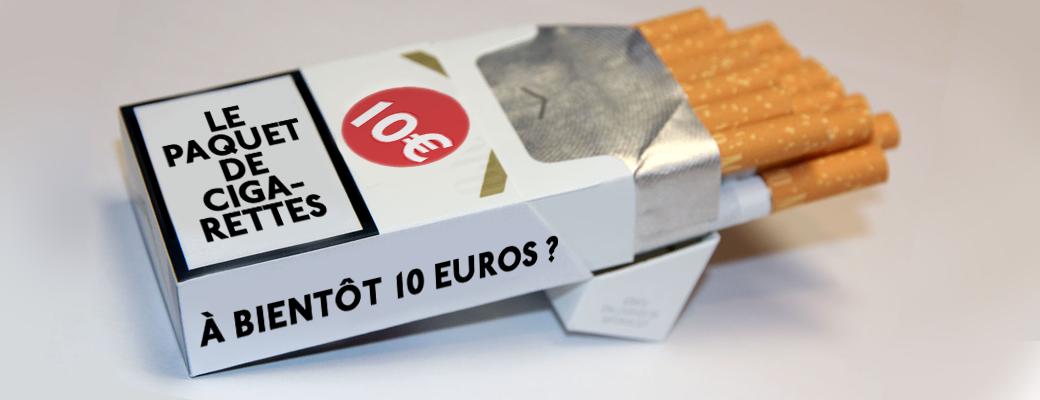 Le paquet de cigarettes bientôt à 10 € ?