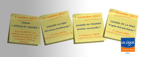 Réunions d'information patients/proches Ligue contre le cancer