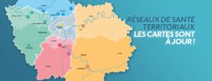 Réseaux de santé territoriaux : les cartes sont à jour !