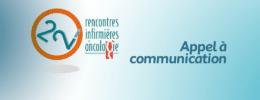 Rencontres Infirmières en Oncologie : appel à communication