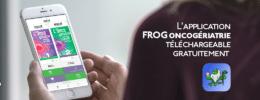 L'application FROG oncogériatrie téléchargeable gratuitement