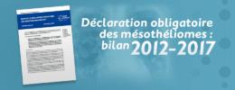 Déclaration obligatoire des mésothéliomes : bilan 2012-2017