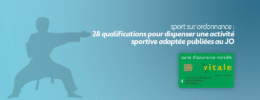 Sport sur ordonnance : 28 qualifications pour dispenser une activité sportive adaptée publiées au JO