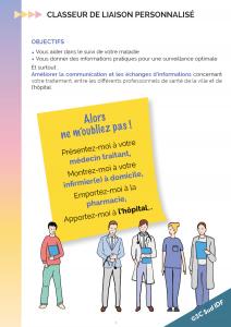 Le classeur de liaison personnalisé du 3C Sud Île-de-France : un outil pour les patients