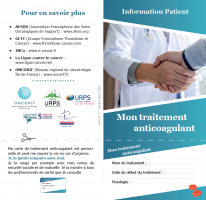 plaquette thrombose et cancer - patient - ONCORIF